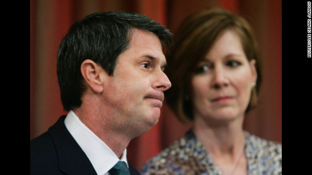 Sen. David Vitter admitted his guilt in the D.C. Madam scandal, with his wife, Wendy, at his side, at a news conference in Metairie, Louisiana, in 2007. Three years later he was reelected to the Senate.