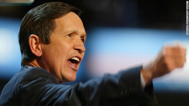 Former Rep. Dennis Kucinich, D-Ohio, has had many ups and downs in his political career, first becoming mayor of Cleveland, at the age of 31, and then losing a bid for reelection. Kucinich was later elected to the Senate, and then the U.S. House, but lost when he ran for president in 2004 and again in 2008.