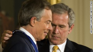 War crimes charges for Bush, Blair? 