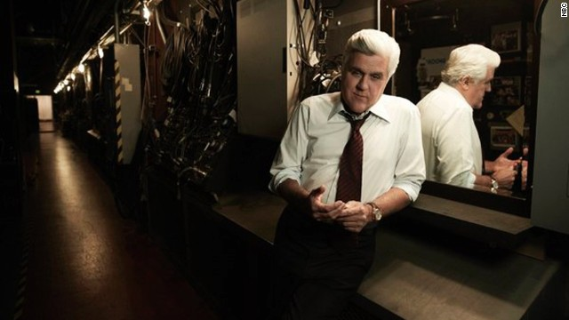Jay Leno announces 'Tonight Show' exit