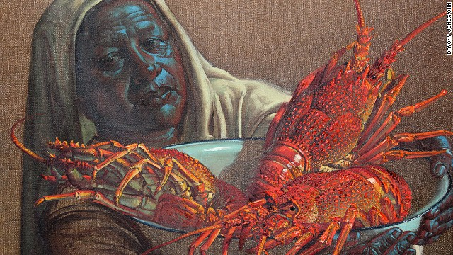 Several of Tretchikoff's lesser-known works, including &quot;Lady with Crayfish&quot; (1951) will also go under the hammer at the sale.