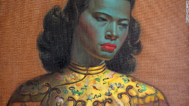 &quot;Chinese Girl,&quot; his best-known work, is reputed to be one of the most reproduced paintings in the world.