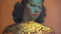 Detail from Vladimir Tretchikoff's