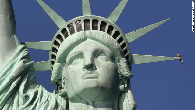 The Statue of Liberty has been closed since October 29 due to infrastructure damage caused by Superstorm Sandy.