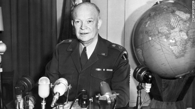 Eisenhower family supports bill to redesign presidential memorial