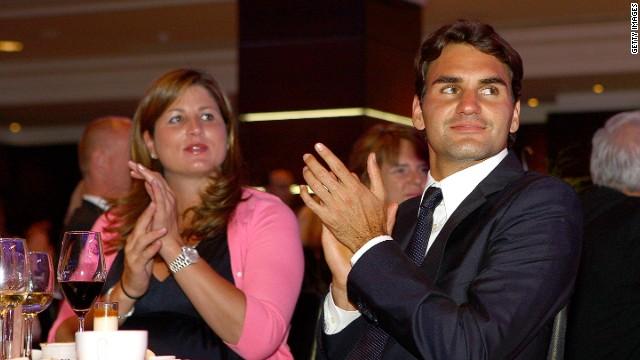 Roger Federer juega dobles: su esposa volvió a tener gemelos