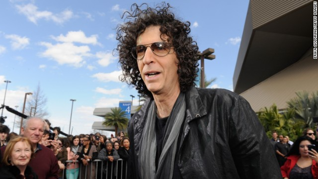 On his Sirius XM radio show, Howard Stern said he's going to