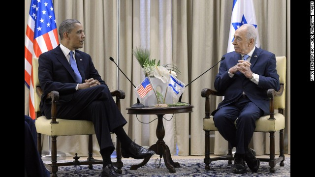 Photos: Obama visits Israel