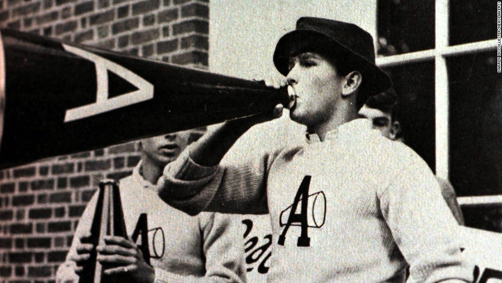 President George W. Bush was the head cheerleader at boarding school Philips Academy before attending Yale, where he continued his cheerleading career. Bush also was a rugby union player for Yale's first XV. Click through to see other U.S. politicians that have played a role in sports before they got into politics.