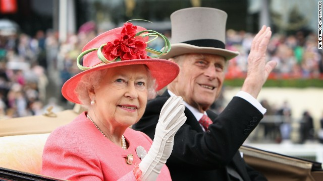 Pomp, pageantry and prize money: Queen Elizabeth and Prince Philip arrive at Royal Ascot.