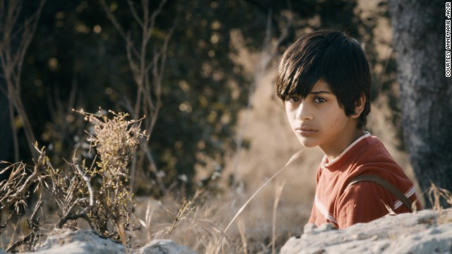 The teen, who had never acted before he was cast in the role, is -- like his character -- a Palestinian living in a refugee camp in Jordan.