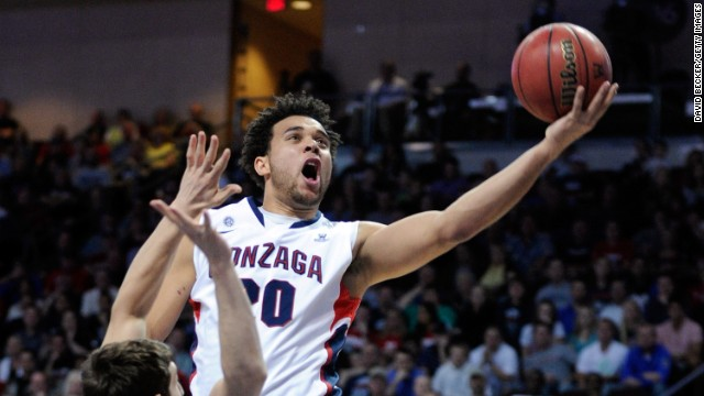 Senior forward Elias Harris is one of Gonzaga's most potent weapons, averaging 14.9 points and 7.4 rebounds per game.