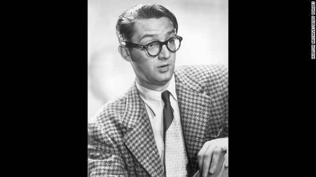 Comedian and songwriter Steve Allen was the show's first host, from 1954 to 1957. His prolific career earned him two stars on the Hollywood Walk of Fame. Pictured, Allen poses for a promotional portrait, 1955.