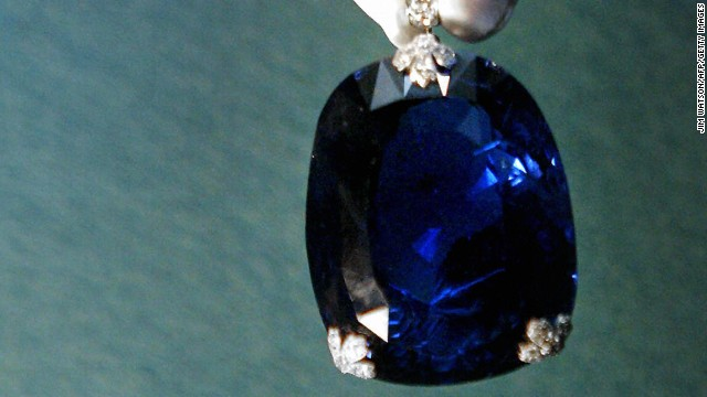A manufactured version of sapphire -- not a gemstone like this one -- could be your next phone screen.