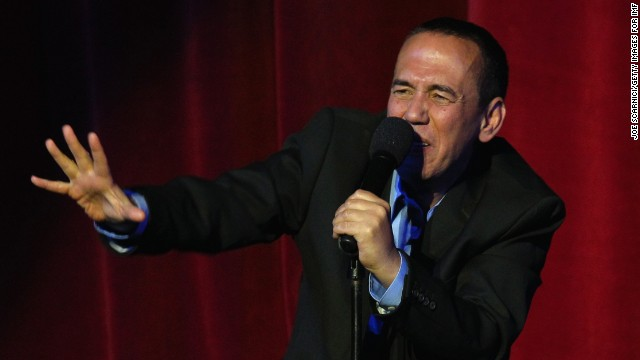 Comedian Gilbert Gottfried, perhaps best known for voicing the evil parrot Iago in Disney's &quot;Aladdin,&quot; was fired from his job as the voice of the Aflac duck for making jokes on Twitter about the 2011 tsunami that devastated Japan.
