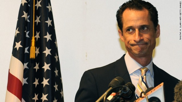 Anthony Weiner was a hotshot U.S. congressman from New York until he acknowledged tweeting photos of his, ahem, private parts to a woman who was not his wife. He resigned in disgrace in June 2011.