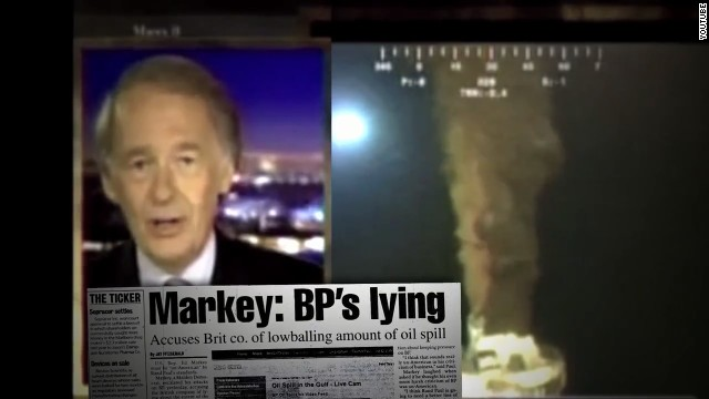 Markey ad touts response to gulf oil spill