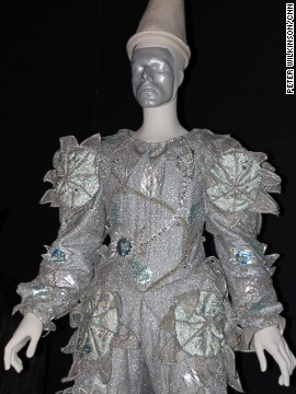 "For the remarkable ""Ashes to Ashes"" video of 1980, in which he walked ahead of a bulldozer, Bowie asked designer Natasha Korniloff to create a Pierrot costume for ""the most beautiful clown in the circus."" The video cost £250,000 to make, and was at the time the most expensive made."