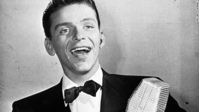 "With his blue eyes and that golden voice, Frank Sinatra, seen here circa 1935, is often referred to as the original teen idol. Decades before there were ""Beliebers,"" there were ""bobby soxers,"" as young female fans were called. Here's a look at 29 other stars who made their young (and old) fans swoon."