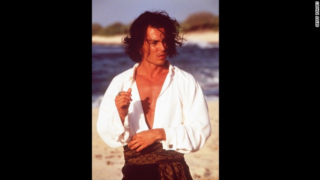 "Johnny Depp's transition from the swoon-worthy undercover cop on ""21 Jump Street"" to one of People magazine's sexiest men alive has been seamless. Here, he captivated fans as Don Juan in 1994's ""Don Juan DeMarco."""