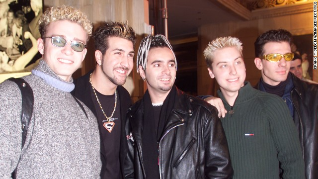 The Backstreet Boys had to battle for boy band domination in the late '90s with the likes of 'N Sync, fronted at the time by a curly-haired Justin Timberlake. (The mystery of those curls has remained unsolved.) Interestingly enough, the tables have now turned: Whereas 'N Sync was killing it in 1998, <a href='http://marquee.blogs.cnn.com/2013/08/27/the-one-n-sync-member-who-wants-a-reunion-tour/?iref=allsearch' target='_blank'>in 2013 they could barely reunite for more than a minute.</a>