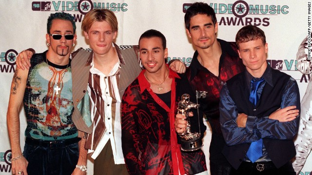 We would say that the Backstreet Boys are back, but we're not sure if they ever really left. While the group took a break in the early 2000s, they're now celebrating their 20th anniversary, <a href='http://www.cnn.com/2013/08/02/showbiz/backstreet-boys-20/index.html?iref=allsearch' target='_blank'>with a new album to boot</a>.