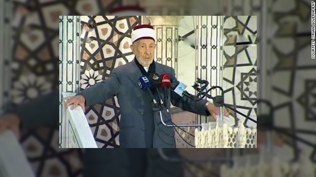 Muere alto clérigo sunita de Siria en un atentado suicida