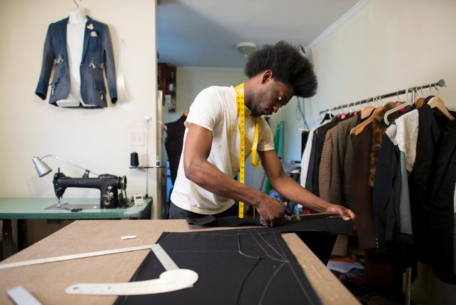 Black Fashion Designers In Atlanta Poku rarely left his Atlanta