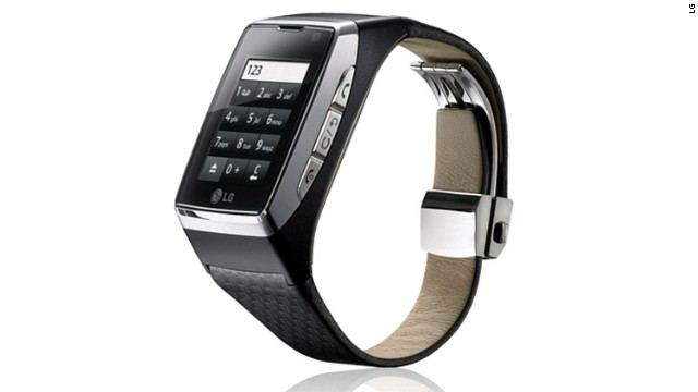 LG already makes the GD910 watch, with a touchscreen, video calling an MP3 player and voice recognition technology.
