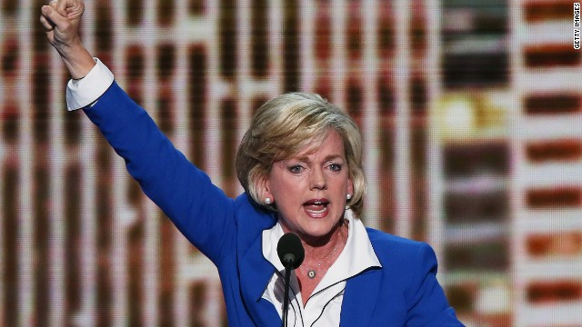 In Michigan, Granholm says no to Senate bid