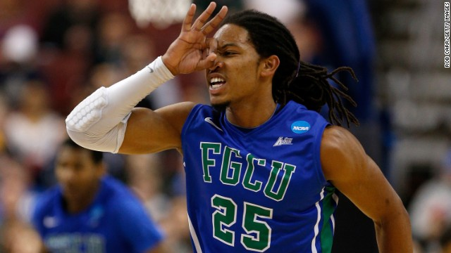 Brackets busted: Florida Gulf Coast defeats No. 2 seed Georgetown