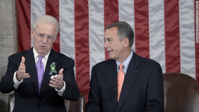 Biden blasts Republicans at event with House Democrats