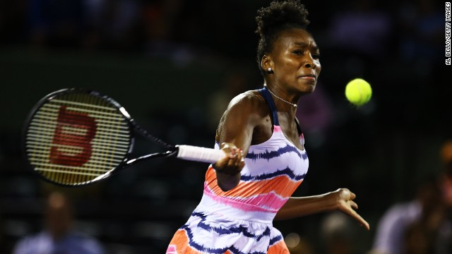 Williams, a seven-time grand slam winner, fell to 103rd in the world in 2011 but has gradually fought her way back up the rankings.