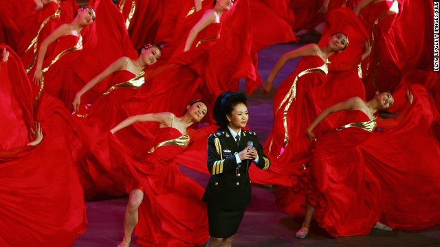 Peng Liyuan, la 'Michelle Obama' de China