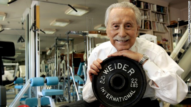 Legendary publisher, promoter and weightlifter &lt;a href='http://www.cnn.com/2013/03/23/health/california-weider-obit/index.html'&gt;Joe Weider&lt;/a&gt;, who created the Mr. Olympia contest and brought California Gov. Arnold Schwarzenegger to the United States, died at age 93 on March 23.