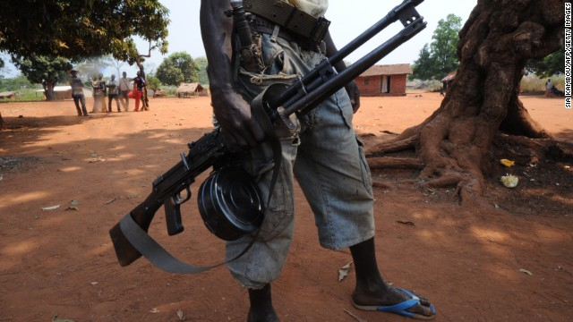 The Seleka rebel coalition launched its offensive in December, accusing President Francois Bozize of reneging on a peace deal .