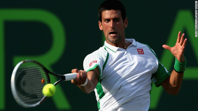 Serbian tennis star Novak Djokovic has won the Miami title three times, including the last two years.