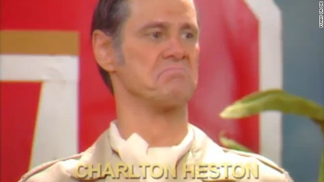 Jim Carrey mocks Charlton Heston