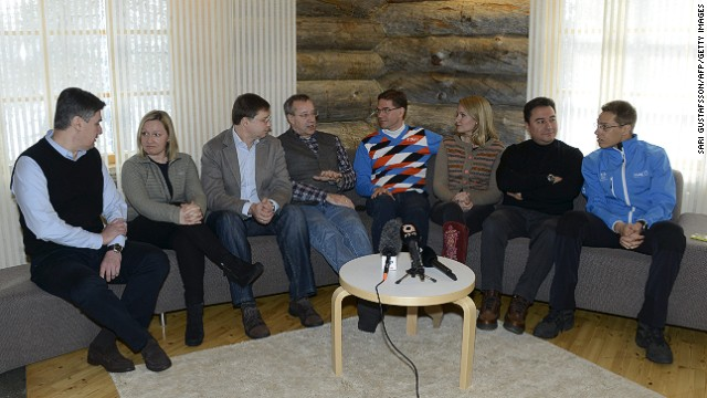 Finland's PM Jyrki Katainen and Europe minister Alex Stubb hosted an informal summit in Lapland over the weekend.