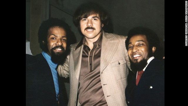 Deke Richards, center, died March 24 at age 68. Richards was a producer and songwriter who was part of the team responsible for Motown hits such as