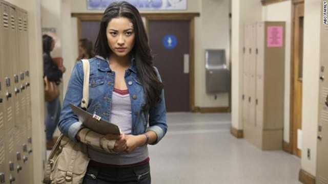 "A major storyline in ""Pretty Little Liars"" has been the discovery by Emily (Shay Mitchell) of her sexuality and her <a href='http://marquee.blogs.cnn.com/2011/01/04/moments-later-on-pretty-little-liars/'>coming out to her family</a>."