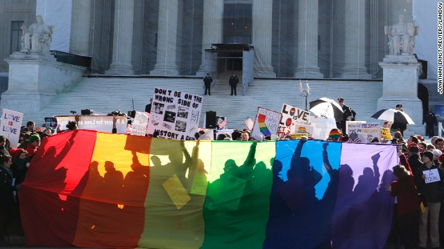 Supreme Court appears deeply divided over same-sex marriage