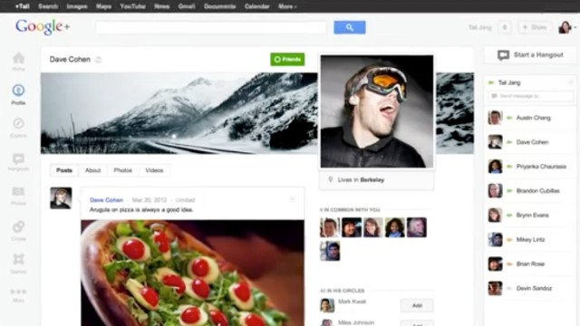 Users of Google's social network can now replace their static profile pics with animated GIFs.
