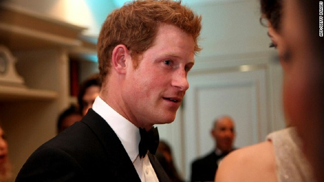 No Full Monty for Prince Harry and Chris Christie