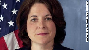Julia Pierson was appointed head of the Secret Service about a year ago in the wake of an incident involving drinking and prostitutes ahead of a presidential visit in Colombia.