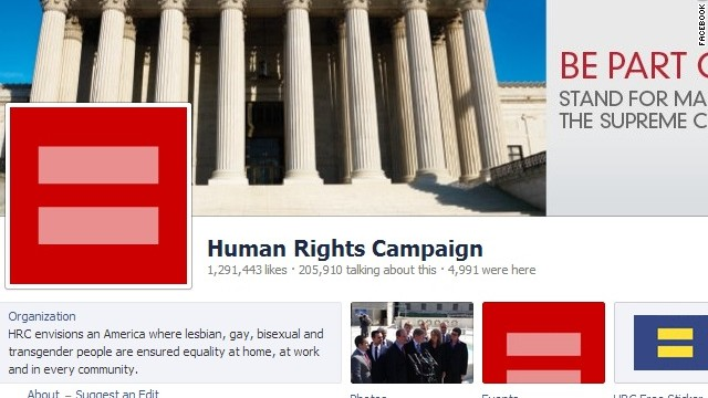 Seeing red? Same-sex marriage debate goes viral