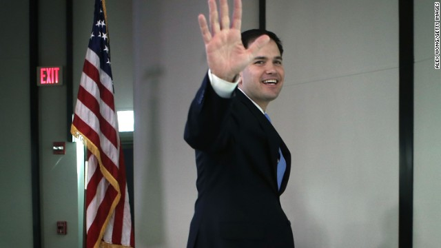 First on CNN: Rubio helps raise north of $200K for McConnell