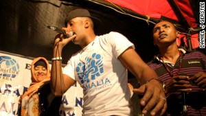 Rappers defy threats for Somalia concert