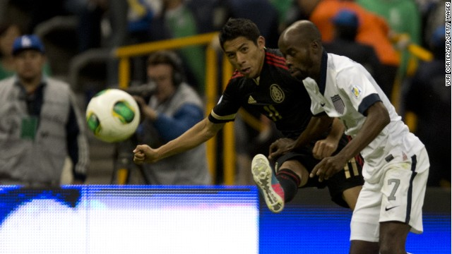 U.S., Mexico tie in key World Cup qualifier