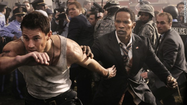 Active military, veterans can see 'White House Down' for free on July 4